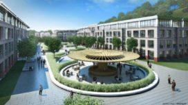 Nieuw hoofdkantoor Chinese mineraalwaterproducent