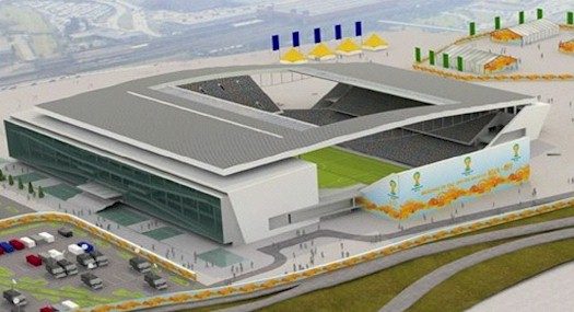 Arena Sao Paulo WK Brazilie 2014