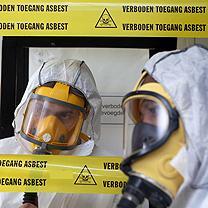 Te transformeren provinciehuis Utrecht vol asbest