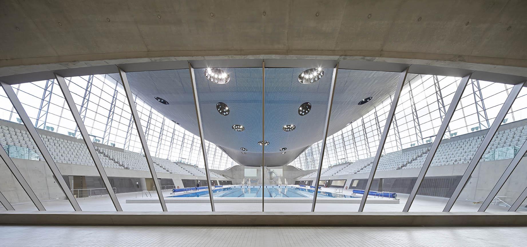 Zaha Hadid Aquatics Centre Hufton + Crow