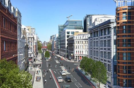 Londens voorstel voor fietspaden van Boris Johnson