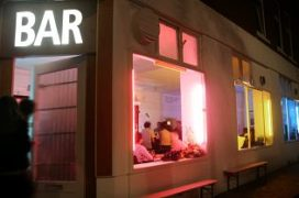 Pop up-club BAR frist Westkruiskade op