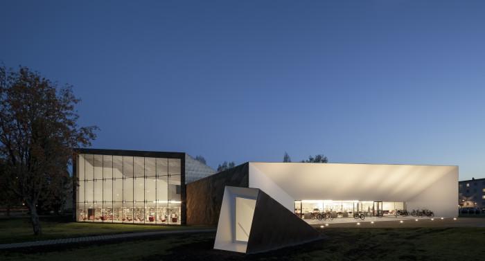 Seinäjoki City Library, JKMM Architects. Photo: Tuomas Uusheimo