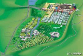 Druk met de bouw van de Belval campus