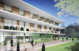 Benthem Crouwel ontwerp Grotiusgebouw Radboud Universiteit Nijmegen