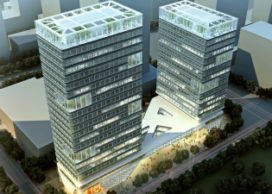 KSP Jürgen Engel Architekten ontwerpt Inno Olympic Plaza in Beijing