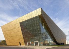 Tianjin Sports Arena in China door KSP Jürgen Engel Architekten