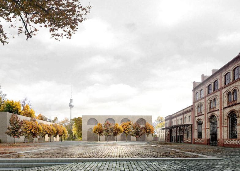 David Chipperfields plannen voor verbouwing voormalige Brouwerij in Berlijn