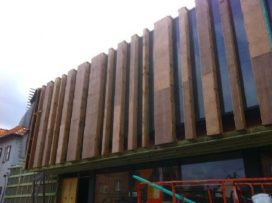 Nieuwe bibliotheek De Pinte (B) in de maak