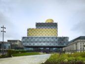 Bibliotheek van Birmingham vandaag geopend