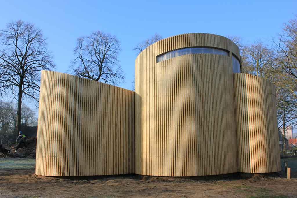 Bijenpaviljoen Frank Marcus Architecten