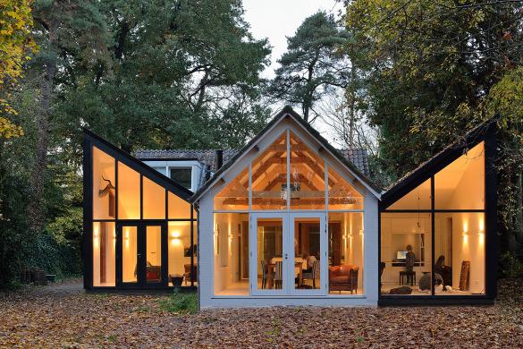 Uitbreiding woonhuis bilthoven door kettinghuls de architect