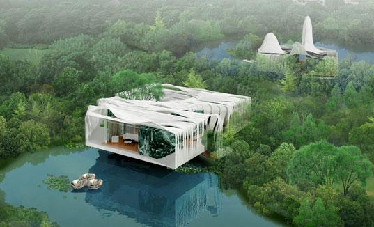 Bird Island GrafLab Architecten_Render Ster van de Week