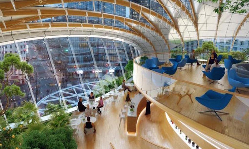 Botanisch Center door Vincent Callebaut Brussel Render Ster van de Week