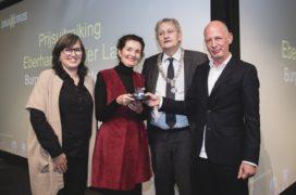 VvdW – Eerbetoon aan winnaars BNA-Kubus 2016