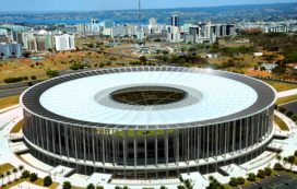 WK2014 Brazilië  – Nationaal Stadion Brasilia