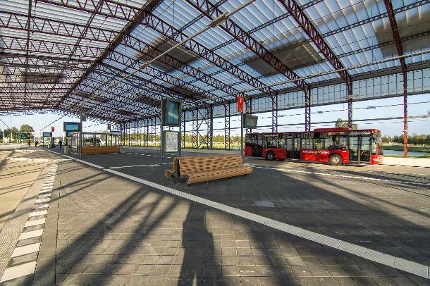 Busstation Schiphol Noord door Claessens Erdmann bekroond met ARC15 Innovatie Award