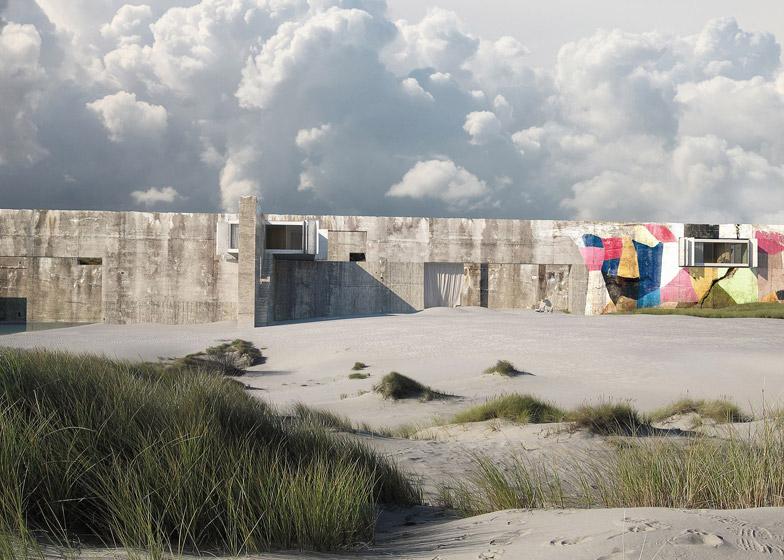 Beachhouse Bloom Image _ Render Ster van de Week
