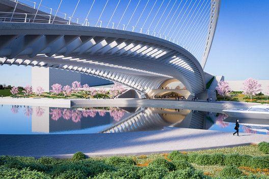 Lincon-brug van Santia Calatrava