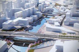 Calatrava ontwerpt nieuwe bruggen voor Huashan, China