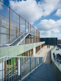 Sportcentrum Caland in Amsterdam door DaF-architecten