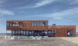 Strandpaviljoen The Hague Beach Stadium – Bloot Architecture & Filip Mens