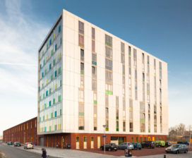 Stadswerf; sociaal duurzaam appartementengebouw