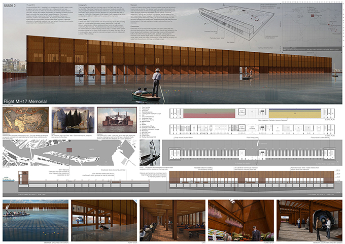 Honourable mention MH17 Memorial+Park competition Cheney Thomas
