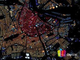 Digitale kaart Waag Society toont leeftijd gebouwen