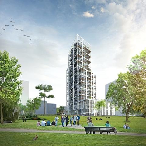 KCAP Riga Toren 1 Antwerpen