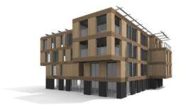 Energieleverend bouwsysteem voor appartementen