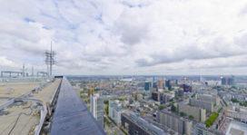 Ontdek de Rotterdamse skyline vanaf de daken