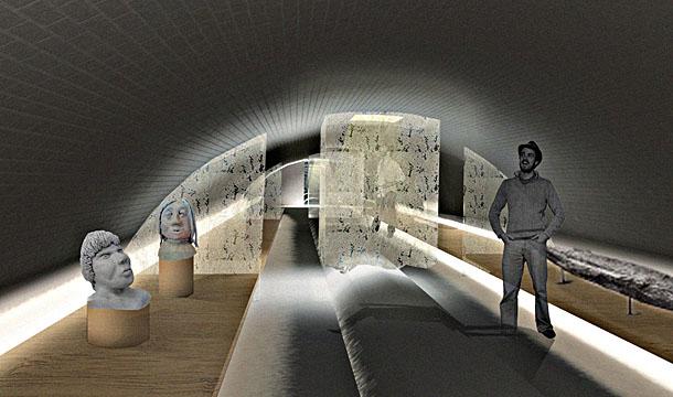 Vlietenmuseum AWG Interieur