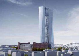 Toren Coop Himmelb(l)au in aanbouw