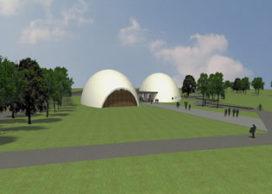 Bouw 'betonballonnen' op Floriade-terrein afgelast