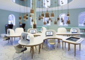 Nieuwe interieurs Groninger Museum