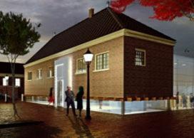 Koetshuis Drents museum teruggeplaatst