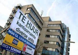 Leegstaande kantoren nauwelijks te verkopen
