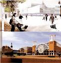 Schetsontwerpen stadskantoor Delft