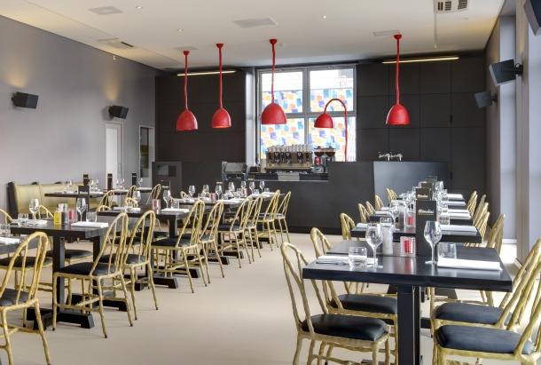 Mendini restaurant Maarten Baas