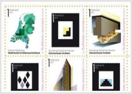 Nederland op postzegelformaat