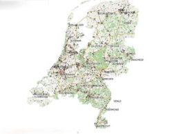 Nieuwe Kaart van Nederland noodlijdend