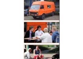 De Ontwerpbus – architecten werken met bewoners op locatie