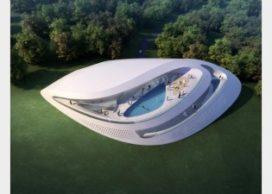 Luxe villa`s van Zaha Hadid in kuuroord