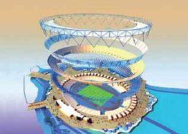 Start ontwerp Olympische Hoofdstructuur