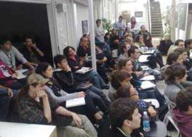 Studenten tijdens Micro Revolutions Sao Paulo