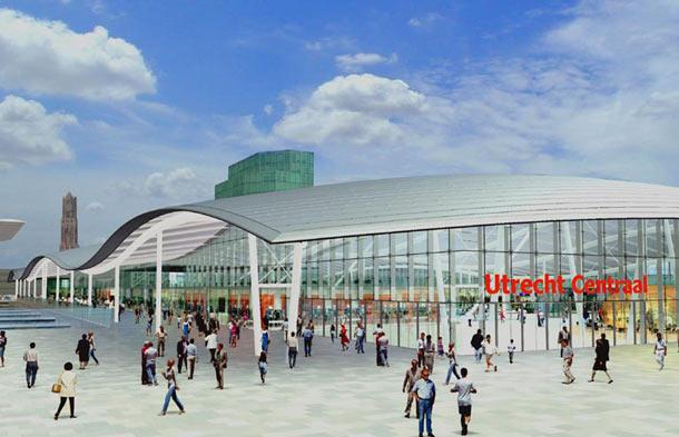 Utrecht Centraal Benthem en Crouwel
