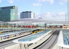 Start bouw Utrecht Centraal