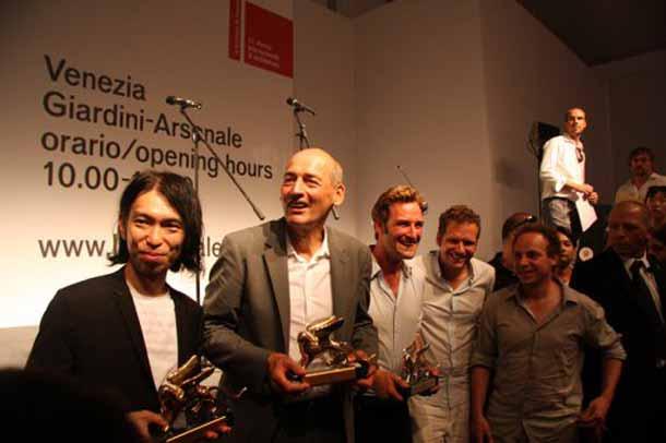 Winnaars Biennale Venetie 2010