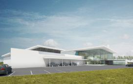 BMW showroom Moordrecht vernieuwd door van aken architecten
